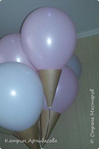 Идея подарить шары красиво)) фото 1