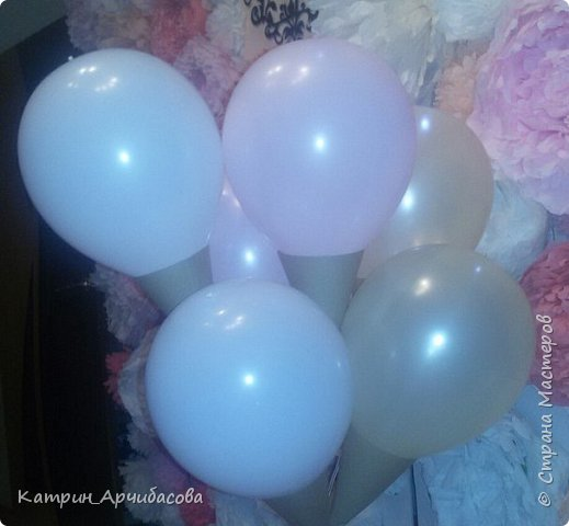 Идея подарить шары красиво)) фото 4