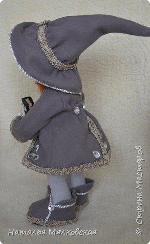 Всем привет! Хочу познакомить Вас с новой куклой.Гном сшитый по МК Ирины Мокреевой.( Мне очень нравятся ее работы,за что ей очень благодарна!)   фото 3