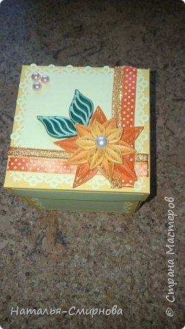 Здравствуйте! Хочу показать какой magic box сделала для подруги на день рождения фото 2