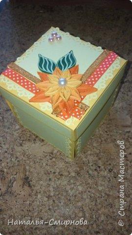 Здравствуйте! Хочу показать какой magic box сделала для подруги на день рождения фото 1