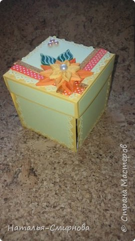 Здравствуйте! Хочу показать какой magic box сделала для подруги на день рождения фото 6