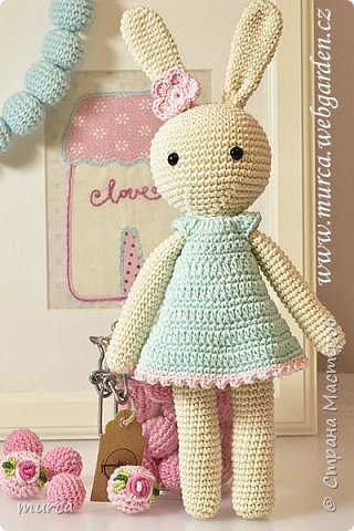 Lovely crochet bunny фото 2