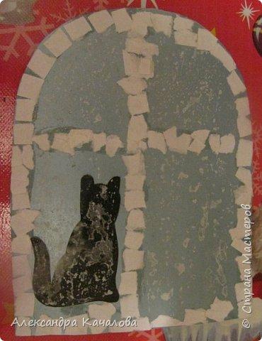 Спасибо Марине Лужинской за идею!  На гладкой поверхности плоховато получилось. фото 1