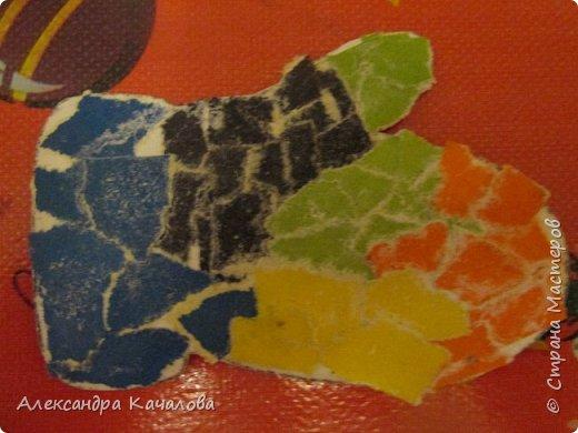 Спасибо Марине Лужинской за идею!  На гладкой поверхности плоховато получилось. фото 8