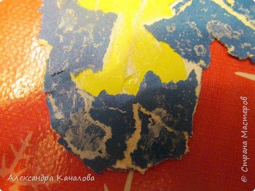 Спасибо Марине Лужинской за идею!  На гладкой поверхности плоховато получилось. фото 12