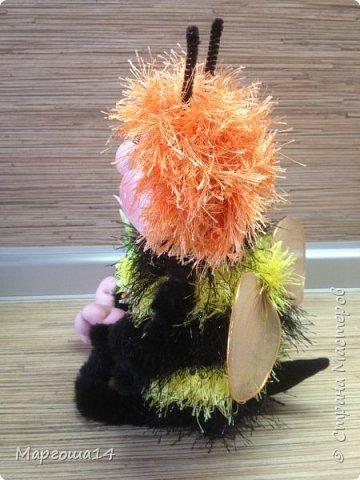Здравствуйте,Страна Мастеров!!!Решила показать,как я делаю пчёлок,может кому-нибудь пригодится.  фото 13