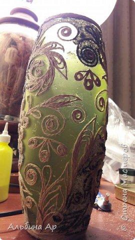 Здравствуйте, мои дорогие! Родилась очередная ваза из триптиха!  фото 3