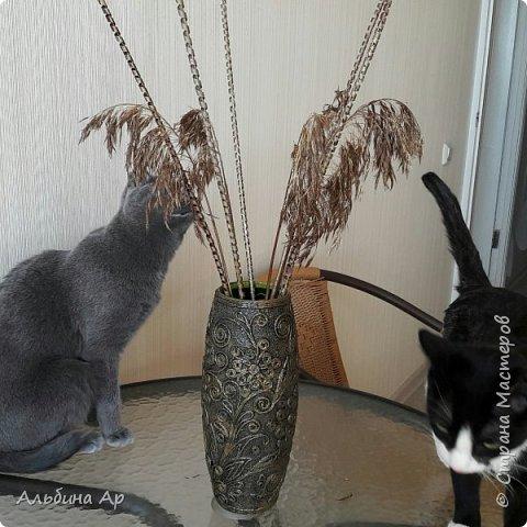 Здравствуйте, мои дорогие! Родилась очередная ваза из триптиха!  фото 8