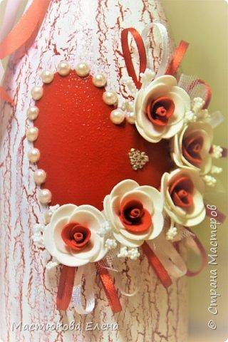 Декупаж. Свадебные аксессуары.  фото 3