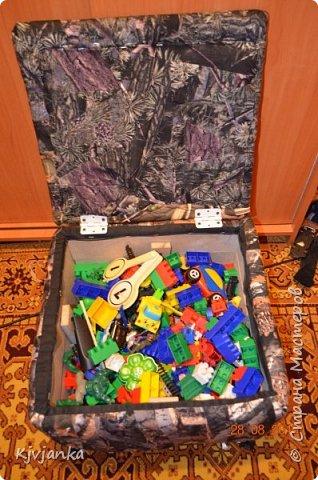 Пуфик для игрушек фото 6