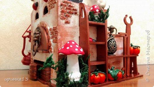 Добрый день Страна мастеров.Много писать не буду.Чайный домик предназначен в подарок замечательному человеку. фото 10