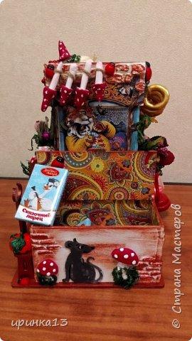 Добрый день Страна мастеров.Много писать не буду.Чайный домик предназначен в подарок замечательному человеку. фото 4