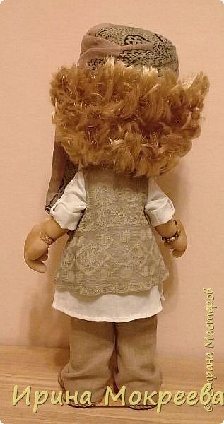 Здравствуйте жители страны мастеров , сегодня закончила работу над  новой куклой . Кукла предназначается в подарок  от подчинёных своей начальнице. фото 7