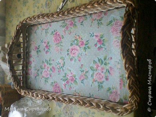 Плету я немного, но зато для пользы дела ;) Вот такая вазочка-корзиночка на стол. фото 5