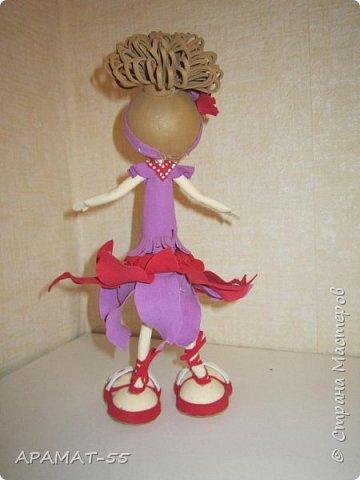 Здравствуйте. Сегодня я покажу вам куколку, которую сделала по МК  http://stranamasterov.ru/node/1096393?c=favusers  Татьяны Шмелевой.  Первая и самая любимая.  Процесс затягивает. фото 8