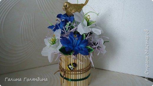 цветочная композиция . фото 2