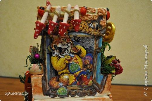 Добрый день Страна мастеров.Много писать не буду.Чайный домик предназначен в подарок замечательному человеку. фото 15