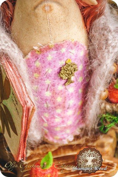 Ёж Огневик живет в лесу Шамана на болоте Цепких мхов. Любит бруснику и варить зелья. Всегда носит с собой книгу с рецептами и заклинаниями. фото 22