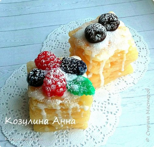 Мыльные тортики!)) фото 4