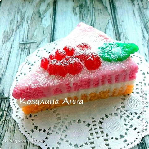 Мыльные тортики!)) фото 6