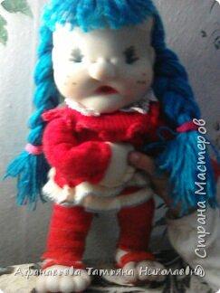 Здравствуйте все! Вот решила поделиться моим новым увлечением-куклами...Это портреты хозяина и хозяйки дома...основу сплела из бумаги... фото 5