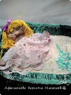 Здравствуйте все! Вот решила поделиться моим новым увлечением-куклами...Это портреты хозяина и хозяйки дома...основу сплела из бумаги... фото 7