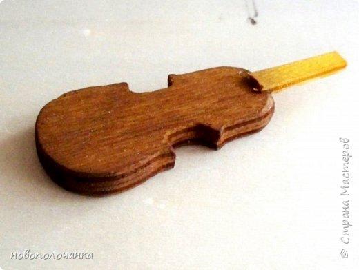 Племяннику любителю музыки скрипки - подарок  на день рождения. фото 12