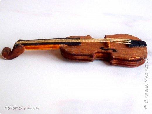 Племяннику любителю музыки скрипки - подарок  на день рождения. фото 14