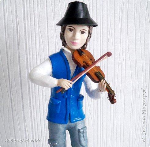 Племяннику любителю музыки скрипки - подарок  на день рождения. фото 2