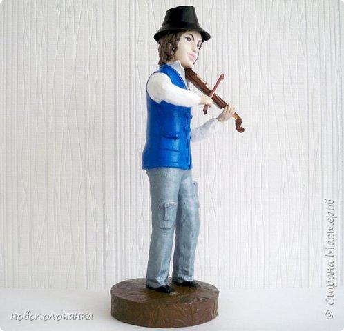 Племяннику любителю музыки скрипки - подарок  на день рождения. фото 18