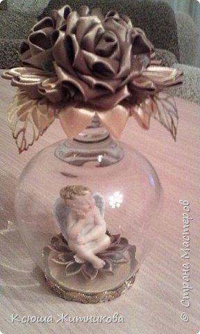 Маленький сувенир на память, моя фантазия в бокале. фото 1