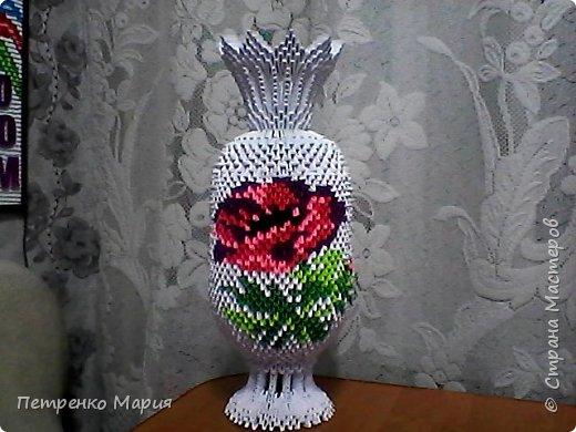 ваза на подарок. 11.05.2017г