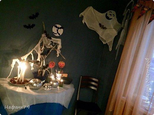 Хэллоуин. Оформление интерьера  фото 9