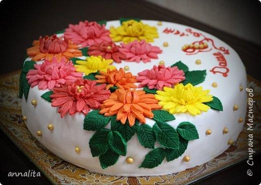 Здравствуйте всем. Сегодня хвастаюсь новым тортиком, который готовили всей семьей. Муж у меня, оказывается, отлично обтягивает торты мастикой. Мне остается только приготовить торт, обмазать его, выровнять и украсить:). В этот раз помогать в украшении вызвалась дочка, очень ей хотелось поучаствовать. Тем более у мамы столько новых плунжеров. Ей бы дать волю, так она бы все навырезала. фото 3