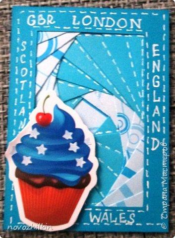 """Что-то под конец Совместника - меня потянуло на сладкое, но... Великобритания... и самая известная английская традиция - five-o'clock - пить чай в 5 часов, а какой чай без десерта. Чтобы не закрывать """"навороченный"""" айрис-фолдинг - десерты без названий (сюрприз) фото 6"""
