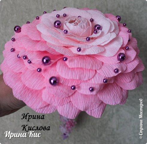 Попробовала сделать розамелию (по этому МК: (http://stranamasterov.ru/node/905332)). Спасибо огромное!:). Внутри раффаэллка. фото 1