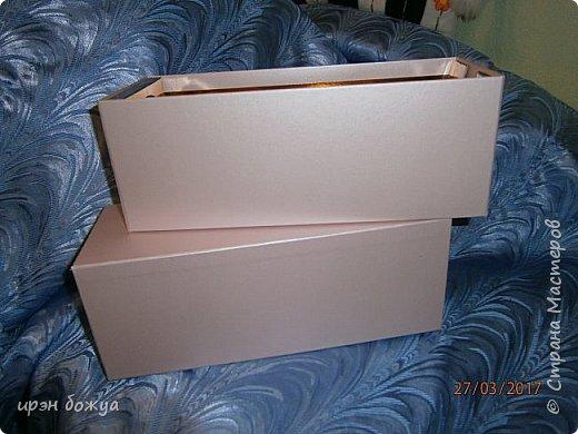 Всем здравствуйте.Сегодня я с переделкой коробки из под напитка в шкатулку для мелочей. фото 2