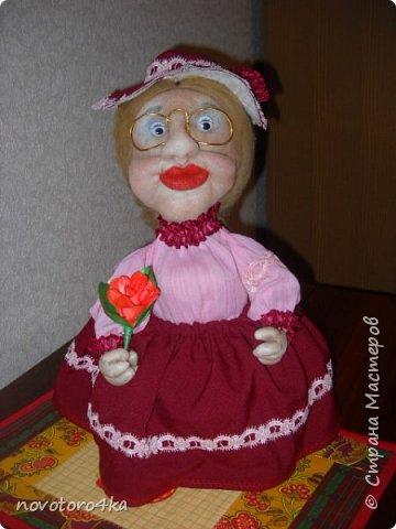 кукла- грелка фото 1