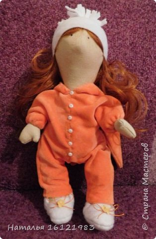 Куколка уже нашла свою хозяйку и живет теперь здесь http://stranamasterov.ru/user/114721 фото 1