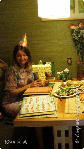 """Всем привет! Спасибо, что заглянули ко мне! Хочу похвастаться Вам моим вторым топиарием :-) Давно хотела попробовать сделать из сизаля что-то интересное и вот """"родился"""" такой подарочек для моей подруге на День рождения. Ниже будут еще рукоделки, но обо всем по порядку.. фото 28"""