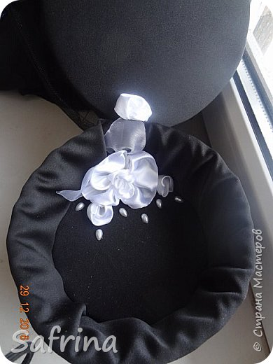 Куколка на день рождения подруге в ее любимом черном цвете. фото 4