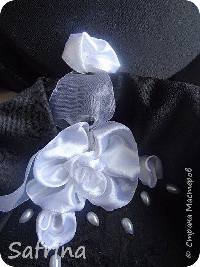 Куколка на день рождения подруге в ее любимом черном цвете. фото 5