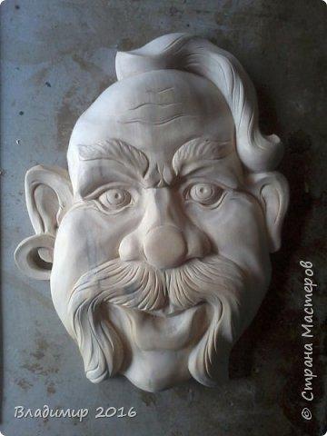 Деревянная маска фото 3