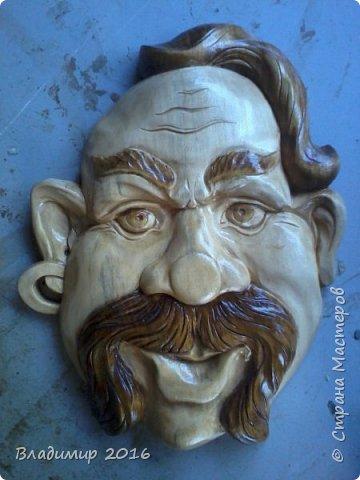 Деревянная маска фото 2