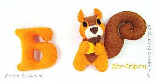 Алфавит из фетра с животными: совместный пошив фото 1