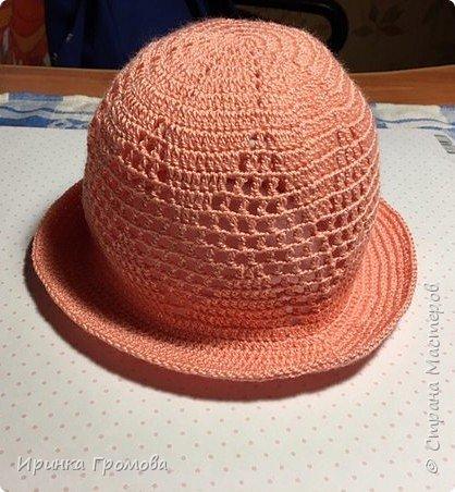 Летняя шляпка.