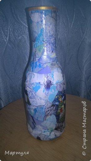 вазы из бутылок фото 4
