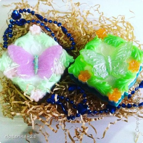 """Сегодня у нас с дочей был """"день мыловарения""""))) Вот чего наварили:  Апельсиновое мылко фото 4"""