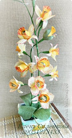 Этот блог с работами  посвященными в основном 8 марта... Корзинка нарциссы с тюльпанами родилась просто на одном дыхании фото 16